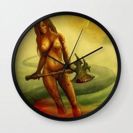 Swamp Kill Wall Clock