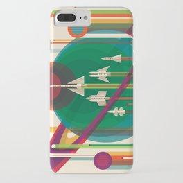 NASA Retro Space Travel Poster The Grand Tour iPhone Case