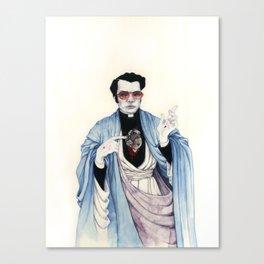 Reverend Jones Canvas Print