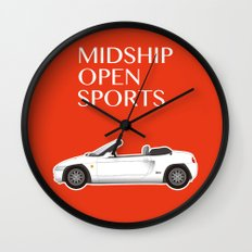 Midship Open Sports Wall Clock