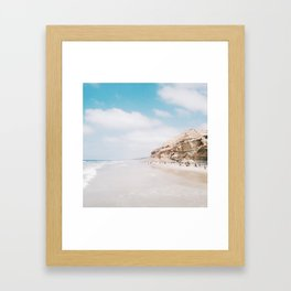 The Coast of Dreams Framed Art Print