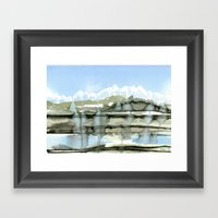 Unfreezing Framed Art Print