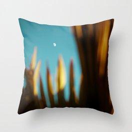 Daily moon Throw Pillow
