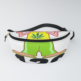 420 Hippy Smokin a Blunt Fanny Pack