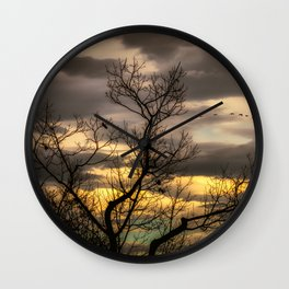 Autumns Eve Wall Clock