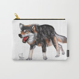 wolf 3  Carry-All Pouch