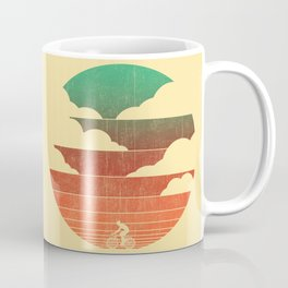 Go West (cycling edition) Coffee Mug