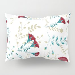 Egyptian Papyrus Flowers Pillow Sham