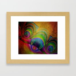 fractal design -85- Framed Art Print