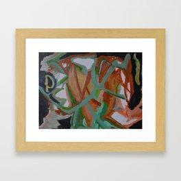 Heartosauron Framed Art Print