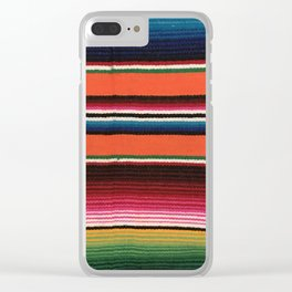 BEAUIFUL MEXICAN SERAPE Clear iPhone Case