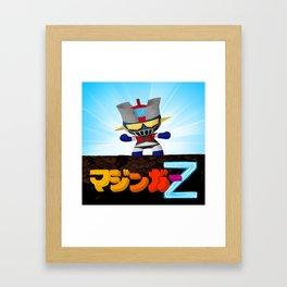 Mazinger ! Framed Art Print