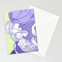 ReyLiaNca New Year's Kisses Stationery Cards
