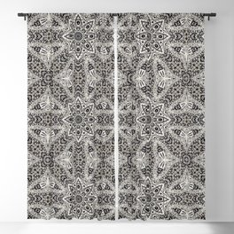 Mehndi Ethnic Style G418 Blackout Curtain