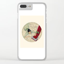 """Con """"Stella"""" tion (constellation) Clear iPhone Case"""
