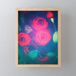 Rose Red Framed Mini Art Print