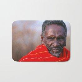 African Maasai Elder Bath Mat