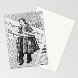 let the lord be with you Stationery Cards