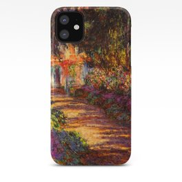 Garden Path at Giverny - Claude Monet 1902 iPhone Case