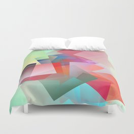 Cubism Abstract 187 Duvet Cover