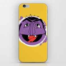 Count Splatt iPhone & iPod Skin