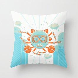 Siva Crab Throw Pillow