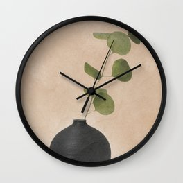 Eucaliptus Decoration II Wall Clock