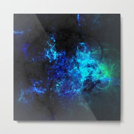 fractal world 9c Metal Print