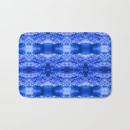 beautiful coral pattern blue magical Bath Mat