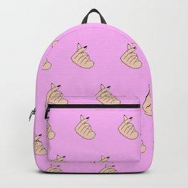 Finger Heart Backpack