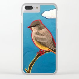 Say's Phoebe Clear iPhone Case