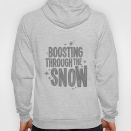 Boosting through the snow Hoody