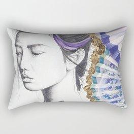 Fan Girl Rectangular Pillow