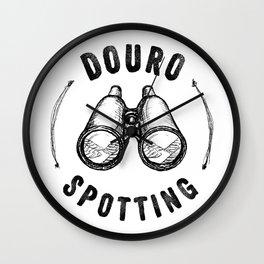 Douro Spotting Wall Clock