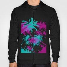California Palm Trees at Night  Hoody