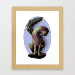 The Manticore (No Background) Framed Art Print