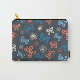 Seamless pattern with butterflies Carry-All Pouch