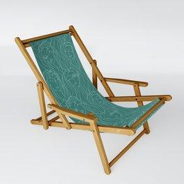 Green Ladies Sling Chair