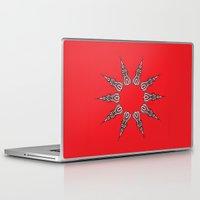 chakra Laptop & iPad Skins featuring Chakra by RaJess