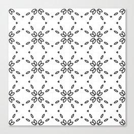 Black and White MINIMAL 02 Canvas Print