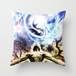 I am a Son of Earth and Starry Heaven Throw Pillow