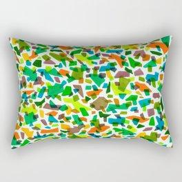 Mid Century Modern Terrazzo Rectangular Pillow