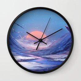 Anime Original Artwork Wall Clock