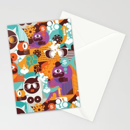 Adam and Eve. Stationery Cards