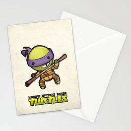Donatello - Kawaii Mutant Ninja Turtles Stationery Cards