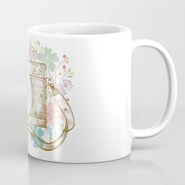 Camera retro flower Coffee Mug