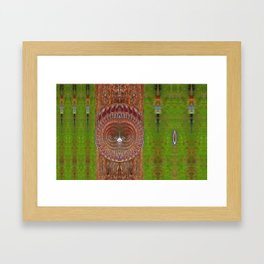 Sun Chief Of Wealth And Power Framed Art Print
