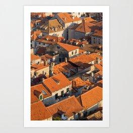 DUBROVNIK 12 Art Print