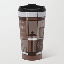 Dark and Bitter Travel Mug