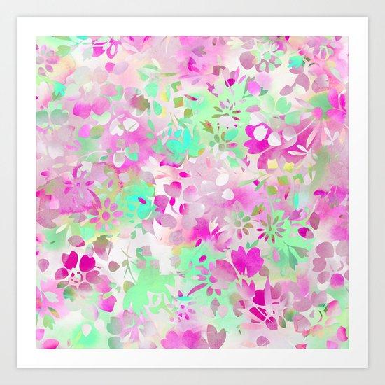 Floral Spirit 4 Art Print